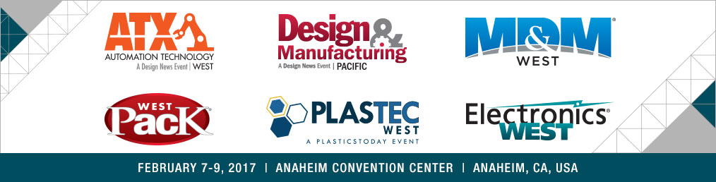 2017 Pacific Design & Manufacturing Show