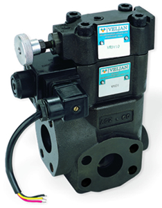 FluiDyne Stocks New Flange Mounted Valves: Pressure Relief, Unloading & Sequence