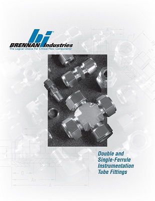 Brennan Industries Introduces Instrumentation Catalog