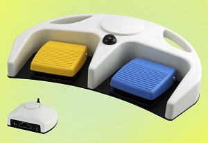 Linemaster's Medical Grade RF Wireless Foot Control