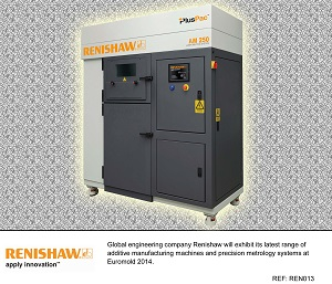 Renishaw's enhanced engineering at Euromold 2014