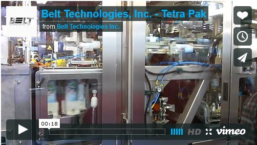 Steel belts are top of the milk for Tetra Pak