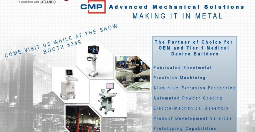 Come and visit us at the Design and Manufacturing show in NYC this June