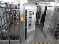Aluminum enclosure for parking system