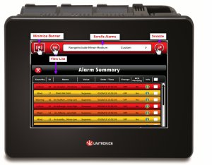 New Alarm Management System Added to Unitronics UniStream PLC + HMI