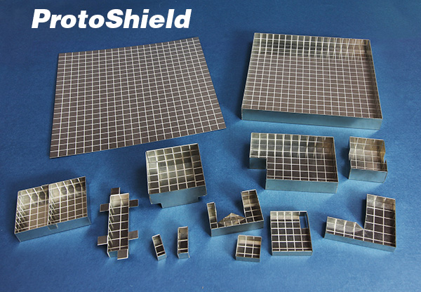 New ProtoShield Sheets Can Be Formed into  Board Level Shield Prototypes in Minutes
