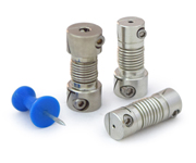 Miniature Fairloc Bellows Couplings