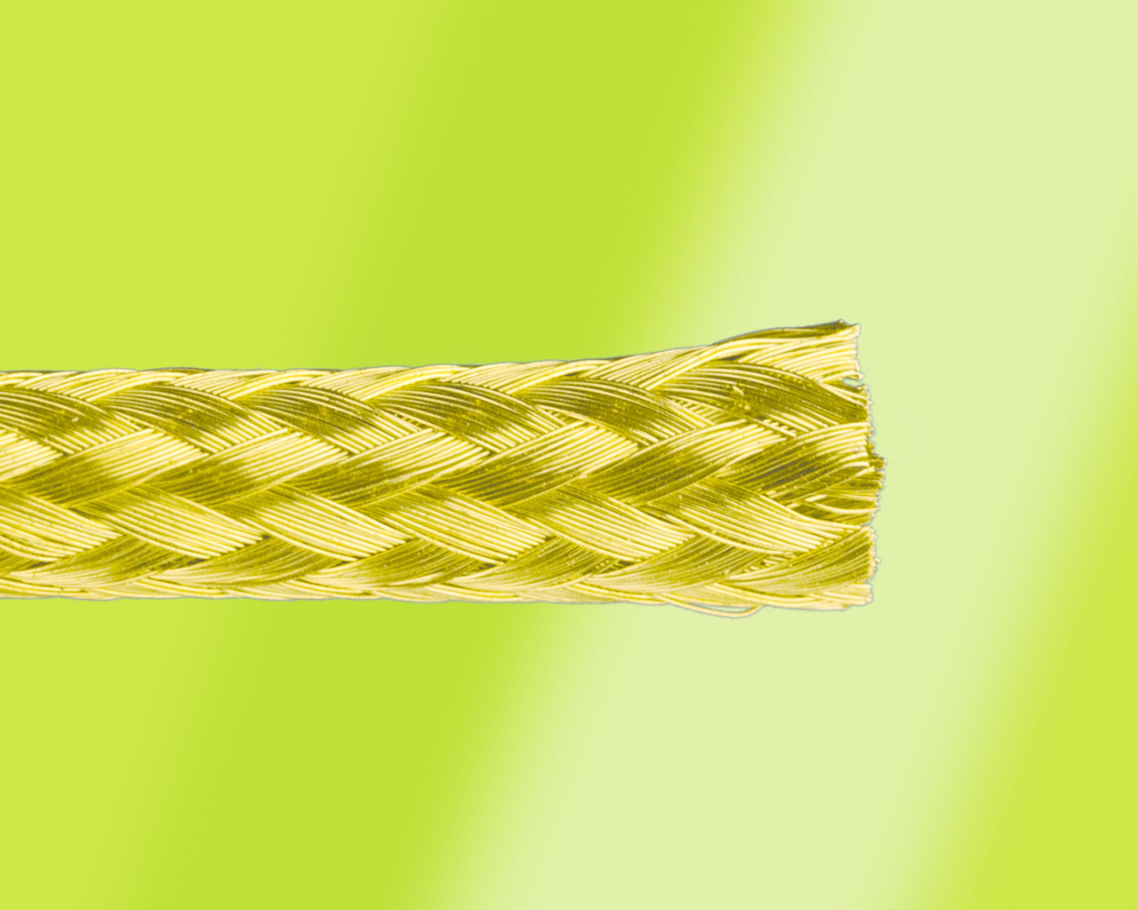 Alpha Wire Introduces Brass Braid Sleeving to the FIT Wire Management Family