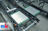 The VersaMove System by mk Continues to Innovate Modular Solutions for Pallet Conveying and Automation
