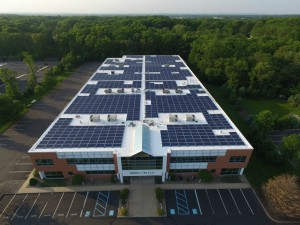 Solar Energy System at NJ Headquarters