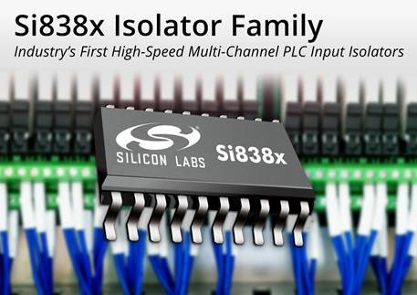 Silicon Labs Launches Industry's First High-Speed Multi-Channel PLC Input Isolators