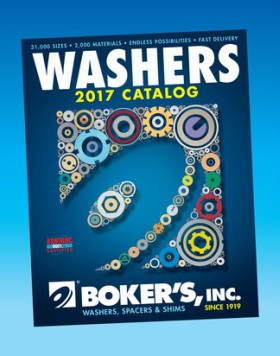Boker's 2017 Washers Catalog is Now Available