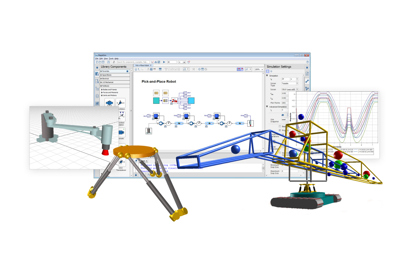 Latest MapleSim Release Improves Engineering Design Productivity