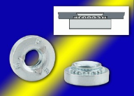 PEM® Type SL™ Self-Clinching Steel Locknuts for Thin Metal Assemblies Integrate Unique TRI-DENT® Feature to Hold Mating Screws Tight