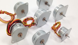 Low-cost Tin-Can Stepper Motors from Nippon Pulse feature high torque and compact size