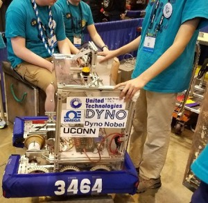 OMEGA Engineering Sponsors Simsbury High School's Robotics Team at FIRST National Championship