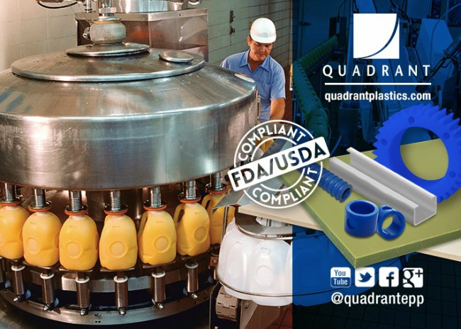 Quadrant Showcases Thermoplastic Solutions at Process Expo 2017