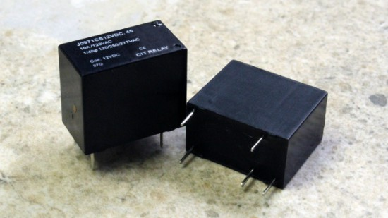 CIT Relay & Switch Offers J097 Series UL Approved Relay