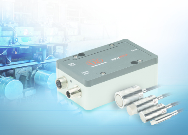 High-performance inductive displacement measuring system