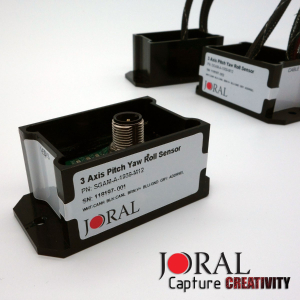 Joral Introduces Sensor Fusion Inclinometer for Pitch, Yaw, and Roll Feedback