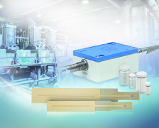 Capacitive measuring system for industrial applications
