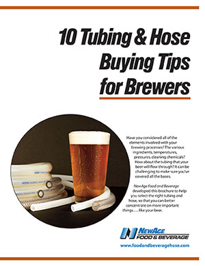 "NewAge® Introduces ""10 Tubing and Hose Buying Tips for Brewers"""