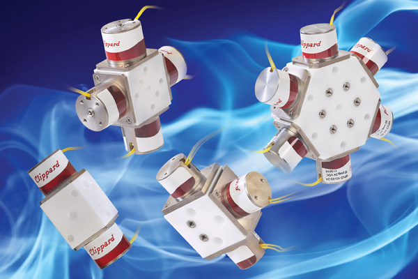Clippard PTFE Multi-Channel Gradient Valves