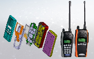 Ruggedised triple mode PMR、FM、MPT communication transceiver