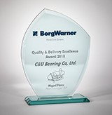 C&U Americas Cited for Exceptional Quality  & Delivery Excellence in 2018 by BorgWarner