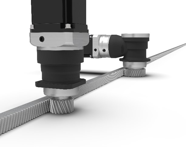 New planetary gearboxes with mounted pinion
