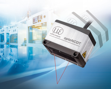 The laser sensor for highest precision with compact design
