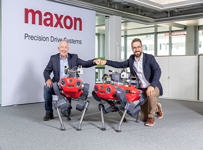 maxon and ANYbotics enter into a strategic partnership