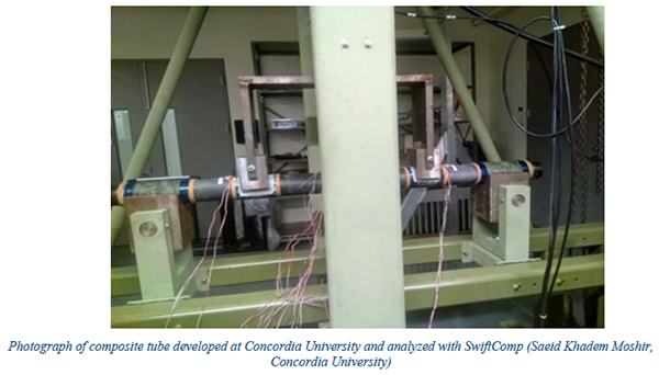Concordia University Leverages SwiftComp, VABS Software for Thermoplastic Composite Helicopter Landing Gear