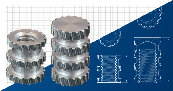 SPIROL Launches New Series of Molded-In Aluminum Threaded Inserts for Plastics