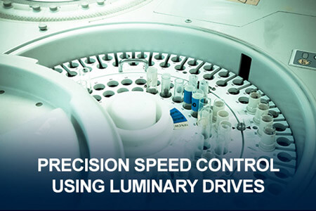 Precision Speed Control Using Luminary Drives