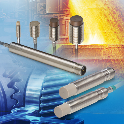 Inductive sensors (eddy current) for displacement, distance & position