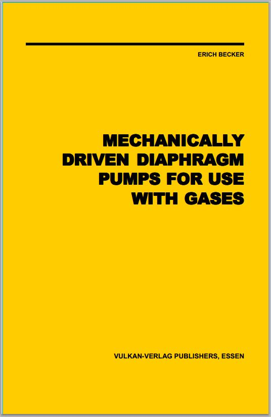 Mechanically Driven Diaphragm Pumps For Use With Gases
