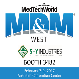 MDM West 2017 / Pacific Design & Manufacturing 2017