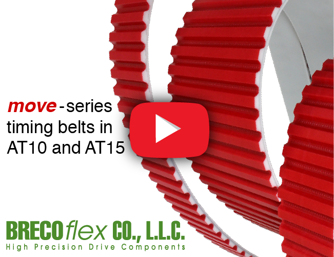 Timing Belts With 75% Greater Tensile Strength & 30% Higher Transmittable Force