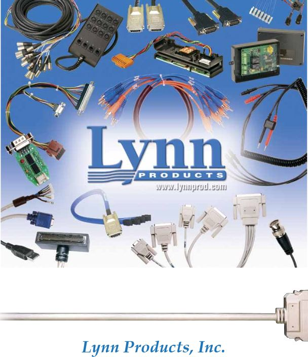 Cable Assemblies and  Contract Manufacturing
