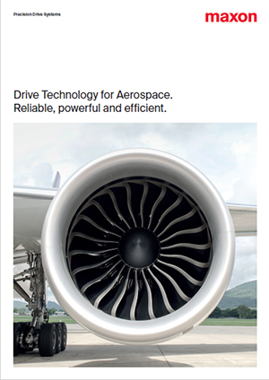 maxon drive technology for Aerospace