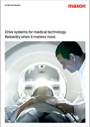 maxon drives for medical technology