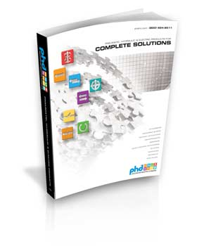 PHD Releases New Complete Solutions Catalog