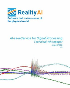 AI-as-a-Service for Signal Processing Technical Whitepaper June 2016