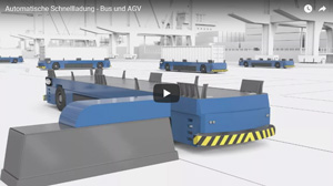 Automatic Fast Charging Bus and AGV