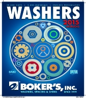 Boker's 2015 Washer Catalog