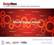 Design News Exclusive Automation Market User Study