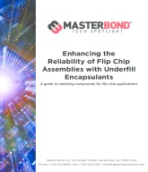Flip Chip Assemblies with Underfill Encapsulants